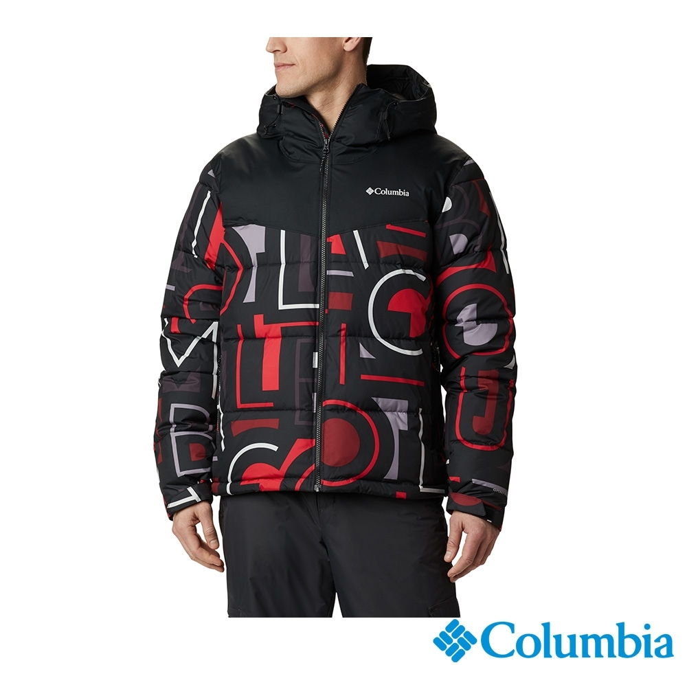 Columbia 哥倫比亞 男款- Omni-Heat 鋁點保暖連帽外套-黑色 UEO09020