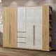 MUNA 芙洛琳7尺衣櫥/衣櫃(不含1尺開放衣櫃) 205X57X202cm product thumbnail 1