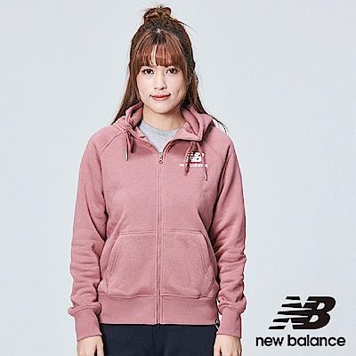 New Balance 刷毛連帽外套 AWJ83506DOX 女性 粉紅