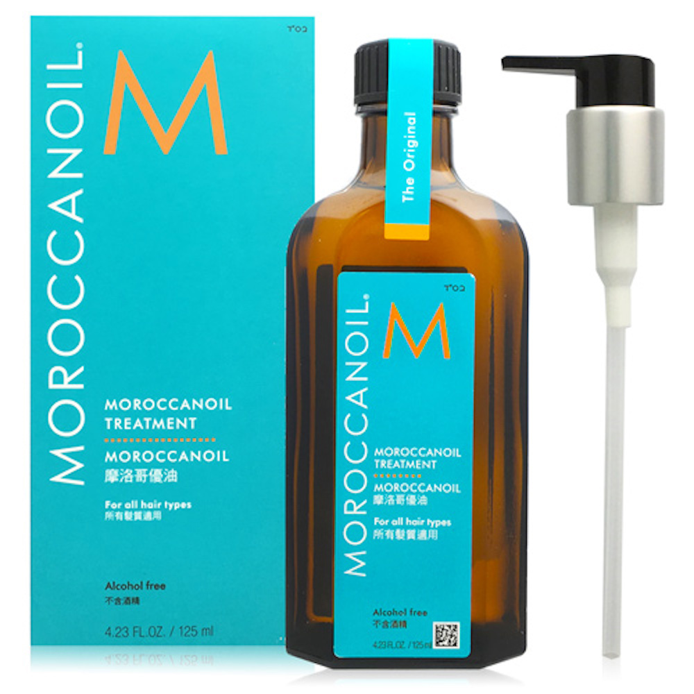 MOROCCANOIL 摩洛哥優油 125ml 附壓頭