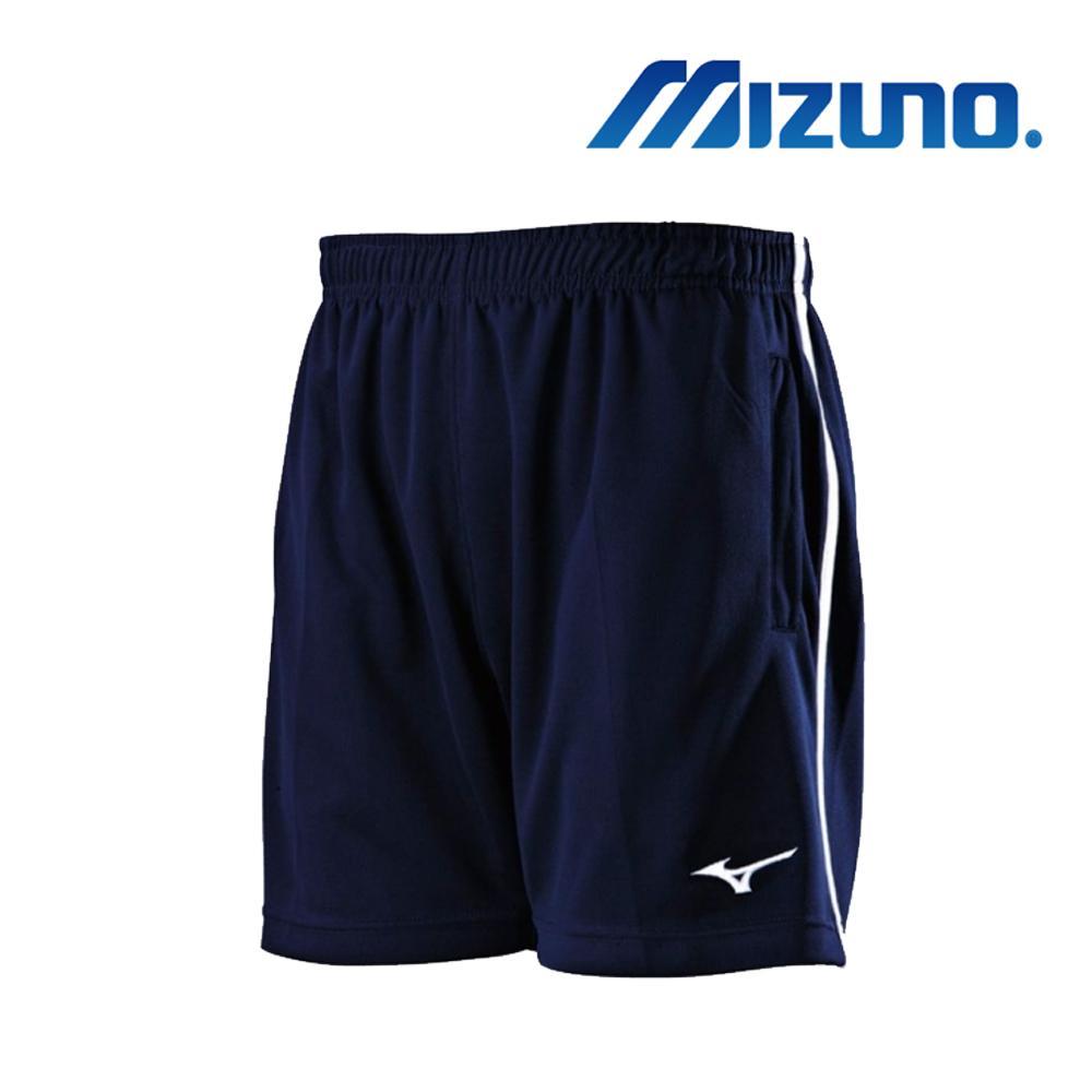 MIZUNO 美津濃 男針織羽球短褲 藍 72TB8A0214