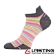 【LASTING捷克】女款美麗諾羊毛抗菌除臭吸濕排汗船型襪/運動襪LT-WWS桃紅條 product thumbnail 1