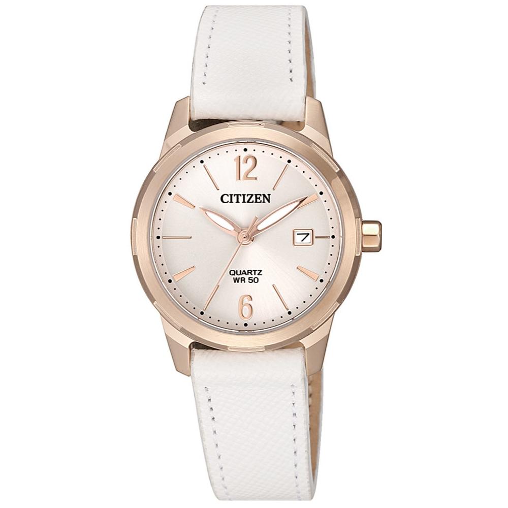 CITIZEN 星辰LADYS完美女人時尚腕錶/EU6073-02A