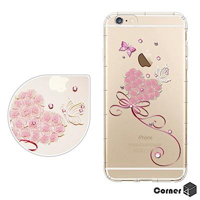 Corner4 iPhone6s/6 Plus 5.5吋 奧地利彩鑽防摔手機殼-...