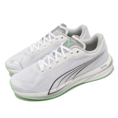 Puma 慢跑鞋 Velocity CoolAdapt 男鞋 氮氣科技 輕量 高緩衝 高避震 平衡穩定 白 灰 19509401