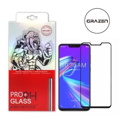 【格森GRAZEN】華碩 ZenFone Max(M2)/ZB633KL滿版(黑)鋼化玻璃