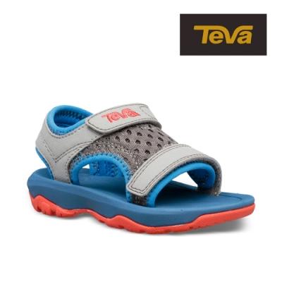 【TEVA】原廠貨 幼童 Psyclone XLT 機能運動涼鞋/雨鞋/水鞋/童鞋(藍灰色-TV1019538TDDGG)