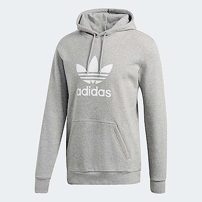 adidas 帽T Originals Trefoil 男款