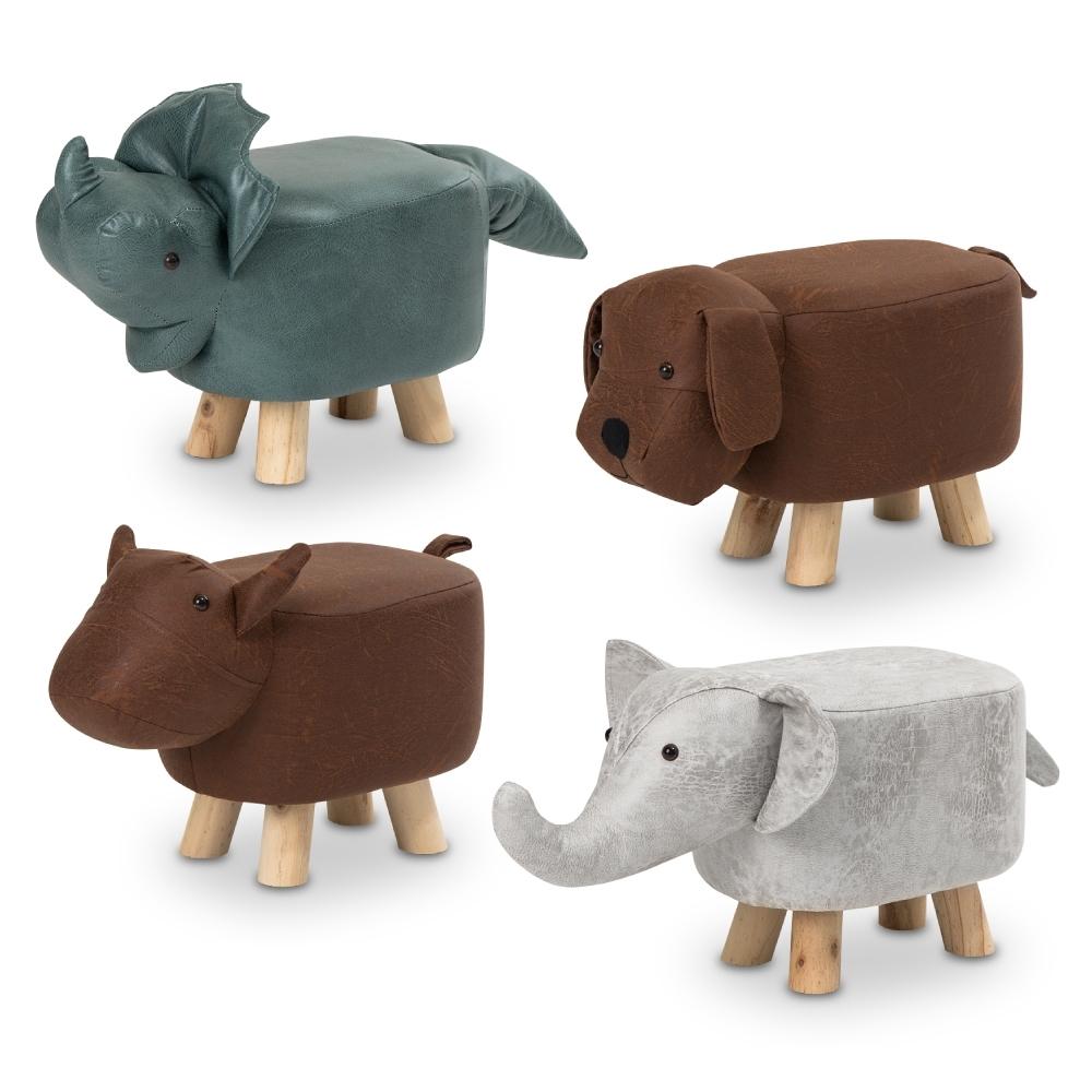 [時時樂限定 買一送一] IDEA-森林系迷你可愛動物凳(平均$300/張)