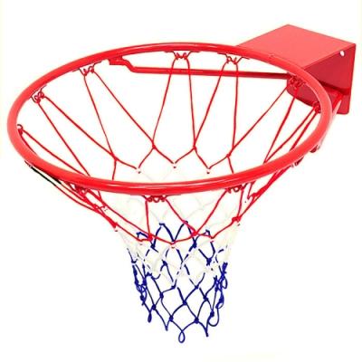 台灣製造_18吋金屬籃球框架(含籃球網)   金屬籃框