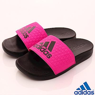adidas童鞋 ADILETTE運動拖鞋 SE695桃(中小童段)