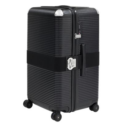 FPM MILANO BANK ZIP Eclipse Black 系列 31吋運動行李箱 日蝕黑 (平輸品)
