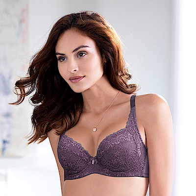 黛安芬-超值美選包覆 B-E罩杯內衣 神秘紫