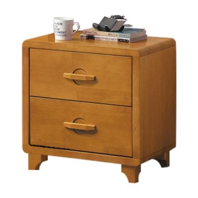 綠活居 卡菲納現代風1.7尺實木床頭櫃/收納櫃-50x42x54cm免組