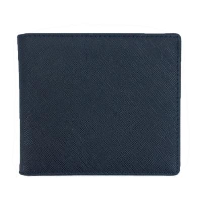 玩皮工坊-真皮十字紋牛皮耐磨男士皮夾錢包短夾男夾LH696