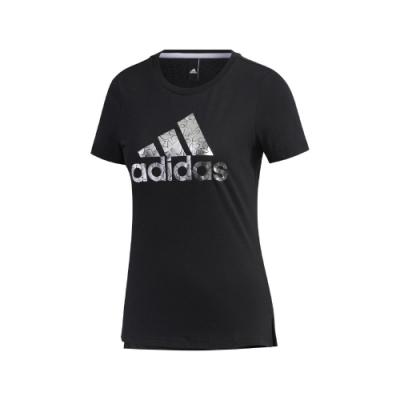 adidas T恤 GFX T Foil BOS 運動休閒 女款