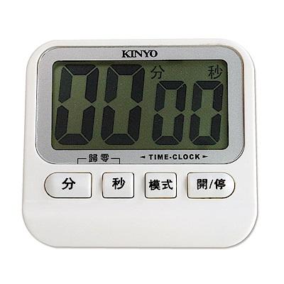 KINYO 電子式雙模式大型螢幕正倒數計時器