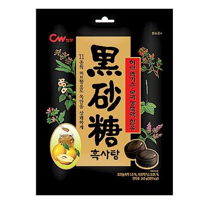 韓國CW 草本黑糖風味糖果(240g)