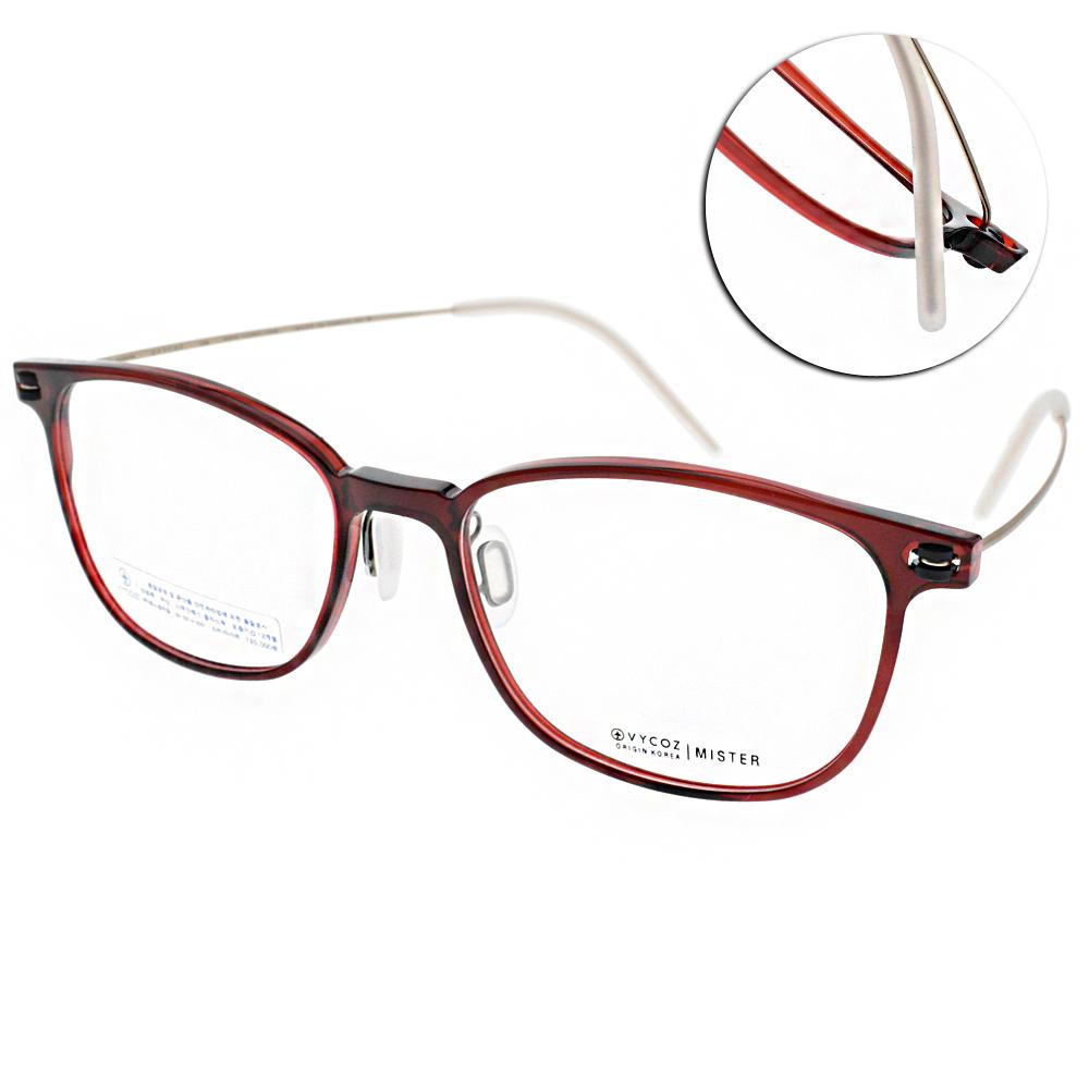 VYCOZ眼鏡 Eco環保材質/透紅-金 #MISTER RED