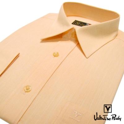 Valentino Rudy范倫鐵諾.路迪-長袖襯衫-橘黃