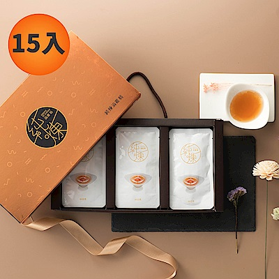 (時時樂) 純煉原味滴雞精15入禮盒 ( 60mg X 15包)