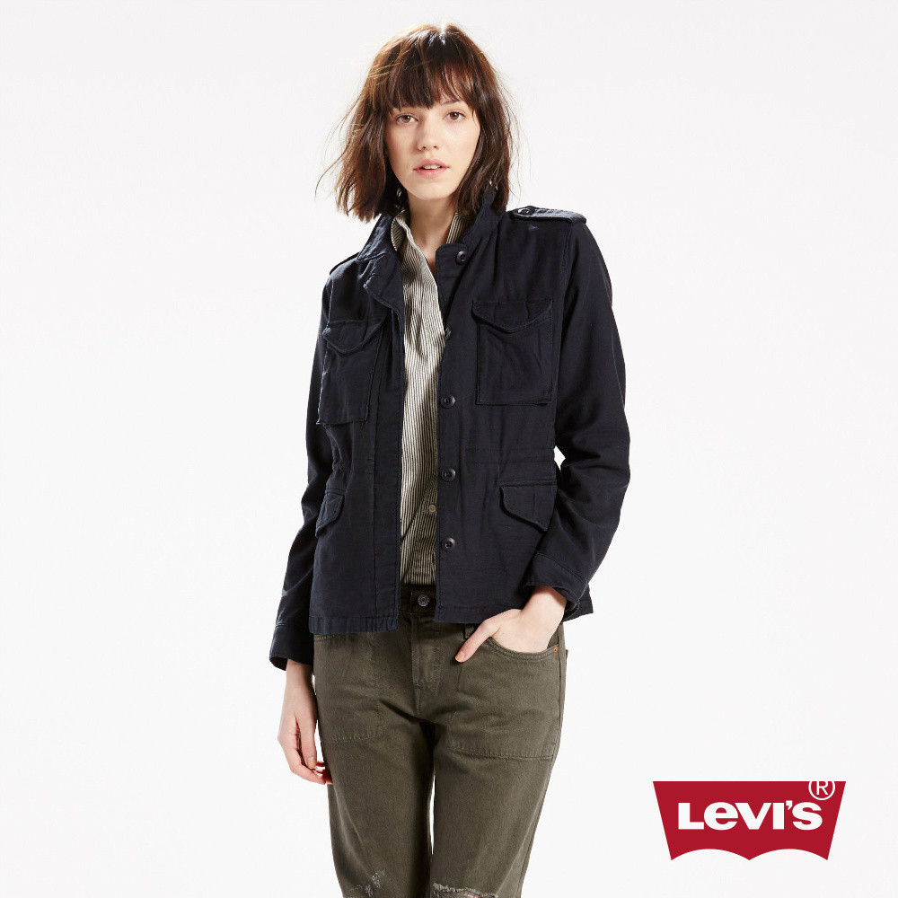 Levis 女裝 軍裝夾克外套