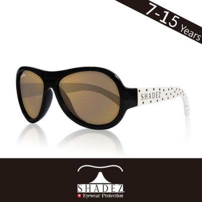 瑞士 SHADEZ 兒童太陽眼鏡 【圖騰設計款-波點卡卡 SHZ-85】7 - 15歲