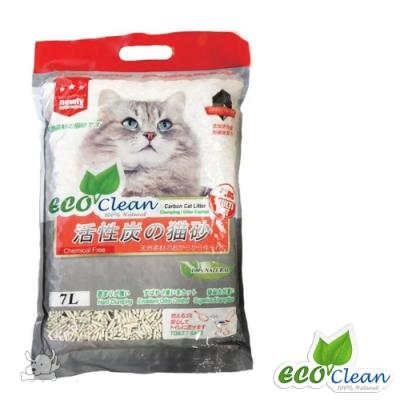 Eco Clean 艾可 豆腐貓砂(活性碳)7L 6包