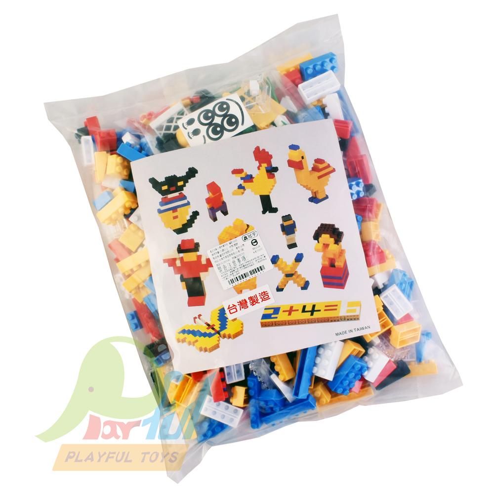 【Playful Toys 頑玩具】小積木補充包
