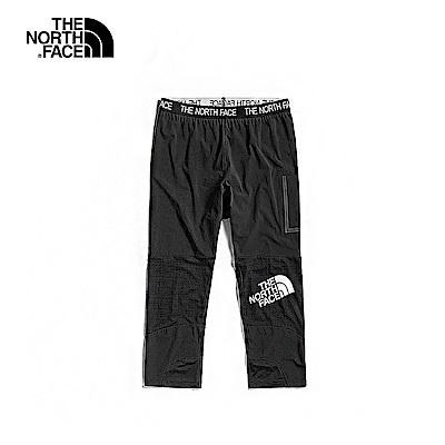 The North Face北面男款黑色吸濕排汗長褲|3V6IJK3