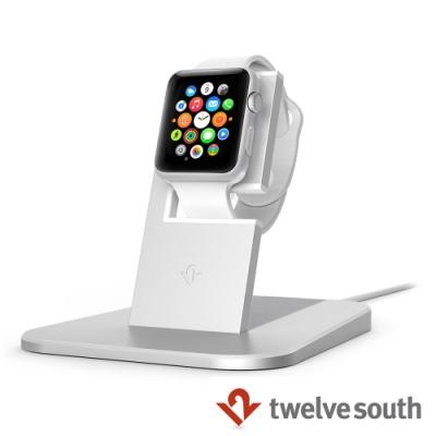Twelve South Apple Watch 蘋果智慧手錶充電立架-銀色