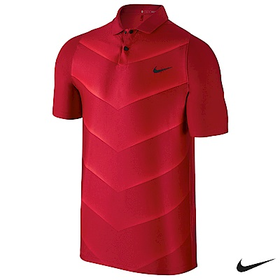 Nike Golf 男子運動短袖POLO衫 紅 726204-687