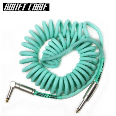 Bullet Cable 15CCSEA IL 捲捲樂器專用導線線材 3.75公尺 水藍色款
