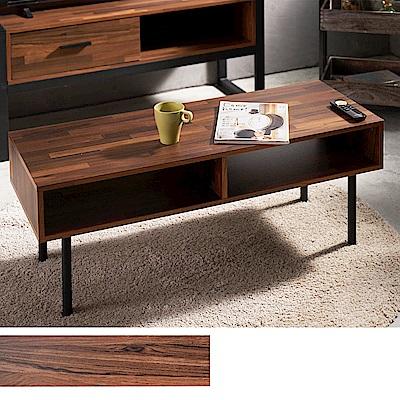 凱堡 拼木工業風茶几桌105公分 簡約款 台灣製