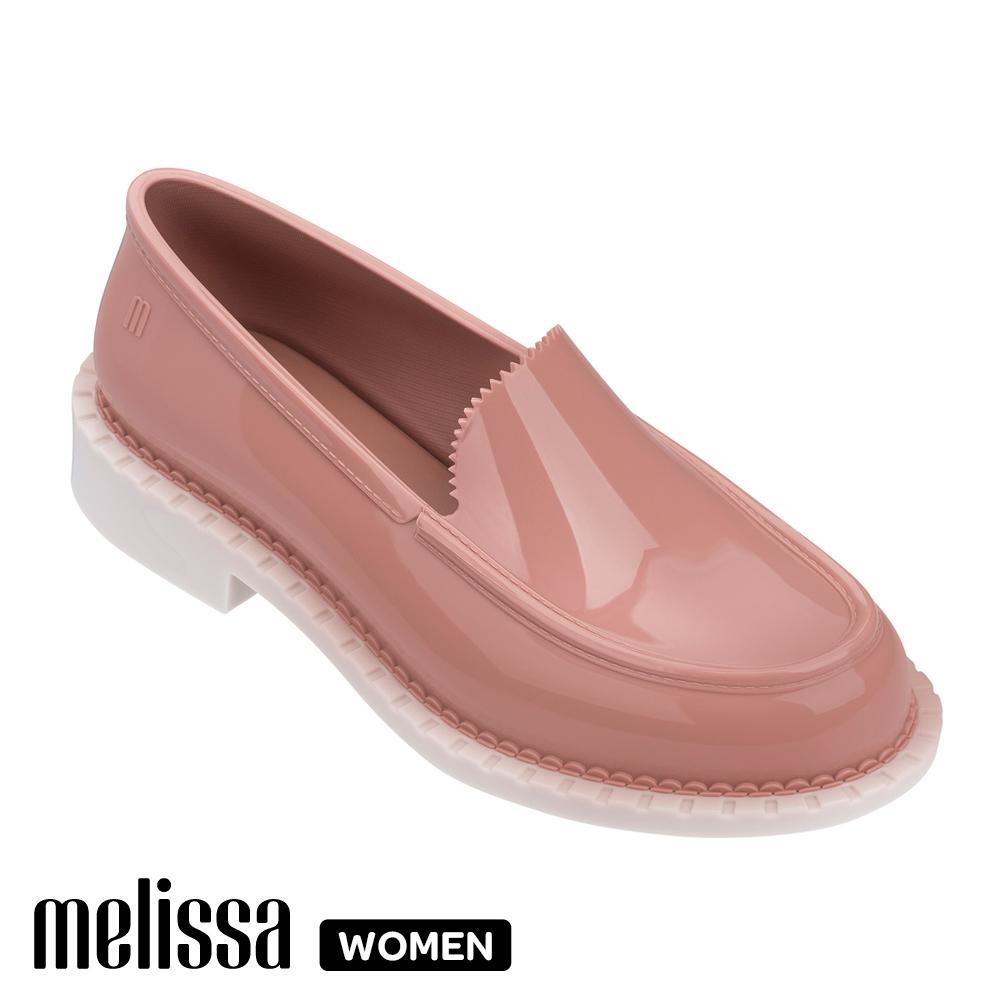 Melissa 經典款樂福鞋 粉