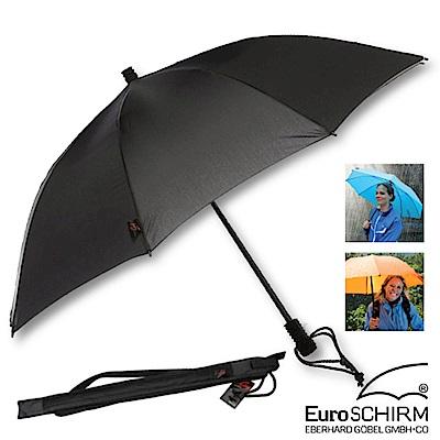 EuroSCHIRM SWING LITEFLEX 戶外專用直把傘_黑