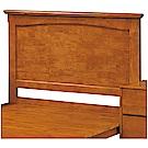 綠活居 湯利時尚3.5尺實木單人床頭片(不含床底)-107x4x108cm免組