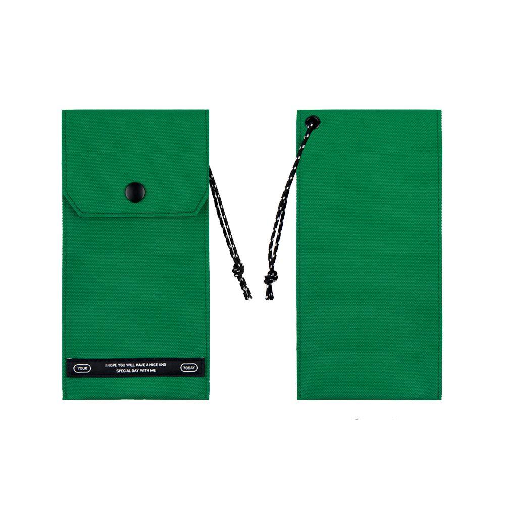 BNTP Today 個性口袋筆袋-文青綠