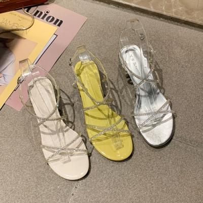 KEITH-WILL時尚鞋館撩人時尚居家浪漫水鑽涼跟鞋