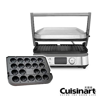 Cuisinart 液晶溫控多功能燒烤/煎烤器/帕尼尼/章魚燒組合