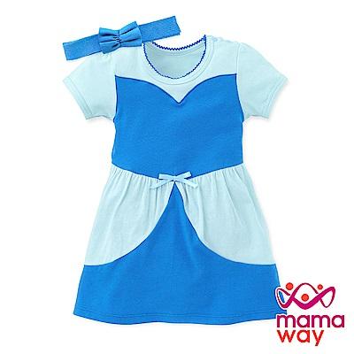 mamaway媽媽餵 迪士尼仙杜瑞拉公主包屁洋裝