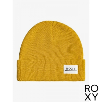 【ROXY】ISLAND FOX 毛帽 黃色