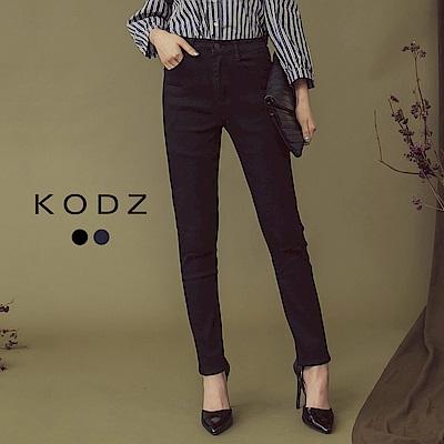東京著衣-KODZ 美腿的秘密修身窄管單寧牛仔褲-S.M.L(共二色)