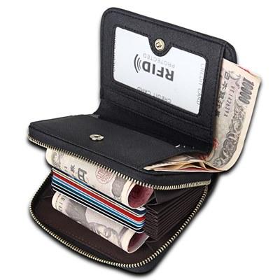 玩皮工坊-真皮牛十字紋牛皮15卡位女士2折皮夾皮包錢包短夾女夾【LH513】