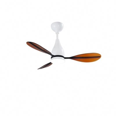 VENTO芬朵 PAGAIA船槳系列 42吋燈扇 白色本體 透咖啡葉片 不含安裝