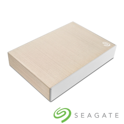 Seagate Backup Plus Portable 4TB 外接硬碟-香檳金