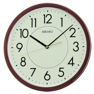 SEIKO精工 夜光面盤大數字掛鐘(QXA629B)-36.1cm