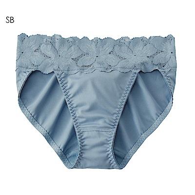 aimerfeel 花卉蕾絲淑女內褲-珍珠藍-958321-SB