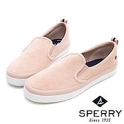 SPERRY 韓版粉彩百搭直套式麂皮休閒鞋(女)-粉色