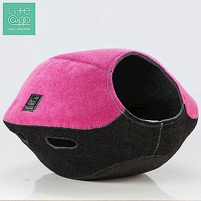 Lifeapp 寵愛貓窩-FUN樂雙色版-馬加拉紅黑